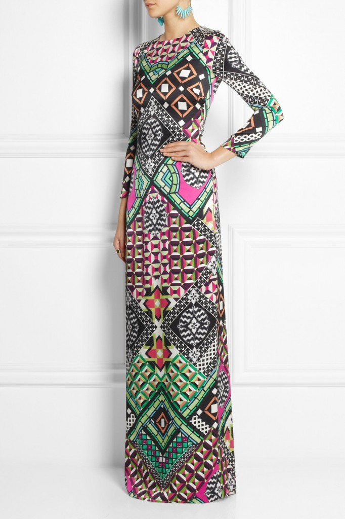 TEMPERLEY LONDON Miri printed silk gown $1,995 (Net-a-porter)